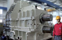 Parallel-shaft gear reducer / industrial / pinion stand / for hot mills