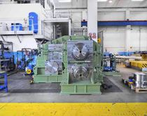 Gear train gear reducer / pinion stand / for hot rolling mills / twin-drive