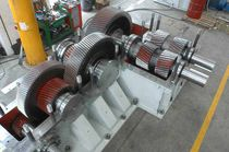Spur gear reducer / parallel-shaft / for tire manufacturing / for rubber mixers