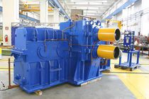 Parallel-shaft gear reducer / pinion stand / for roller mills