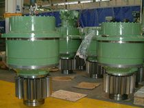 Planetary gear reducer / coaxial / precision / for heavy-duty applications
