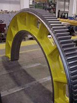 Girth gear for the cement industry