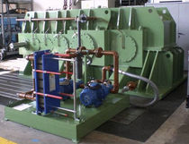 Helical gear reducer / parallel-shaft / for the cement industry
