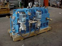 Right-angle gear reducer-multiplier / for hydroelectric power plants