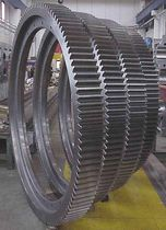 Spur gear / straight-toothed / for cranes / hub
