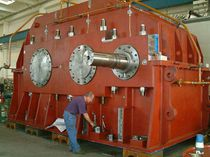 Helical gear reducer / parallel-shaft