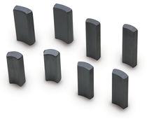 Ferrite magnet / segment shaped / for fuel dispensers