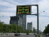 Dot-matrix displays / electronic / for high-traffic areas