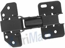 Steel hinge / spring / concealed / screw-in