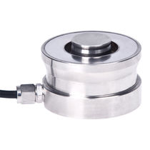 Compression load cell / button type / compact / IP68