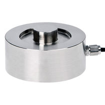 Compression load cell / button type / strain gauge