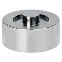 Compression load cell / button type / flat