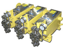 Wastewater pump / electric / diaphragm / chemical