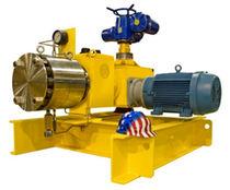 Wastewater pump / electric / self-priming / diaphragm