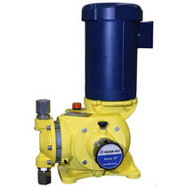 Acid pump / with electric motor / diaphragm / for water treatment