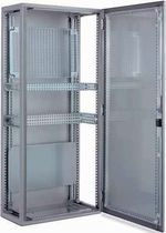 Storage cabinet / floor-mounted / hinged door / stainless steel