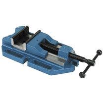 Drill vise / manual / low-profile / screw