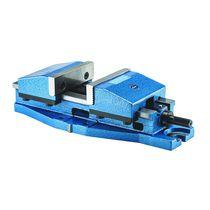 Machine tool vise / manual / low-profile / screw