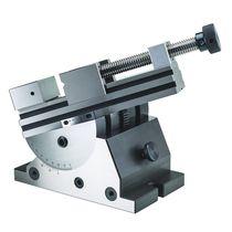 Grinding machine vise / manual / rotary / steel