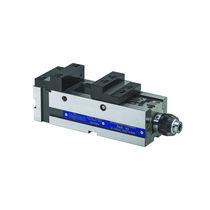 Machine tool vise / hydraulic / horizontal / steel