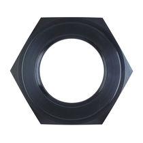 Hexagonal nut / flat / steel