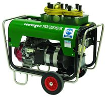 Gasoline generator set / three-phase / mobile