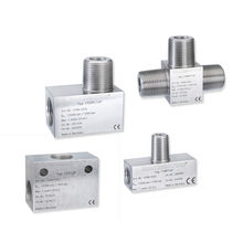 Threaded fitting / pneumatic / cross / T
