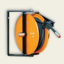 Hydraulic hose reel / self-retracting / swiveling