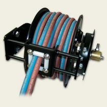 Hose reel / self-retracting / open / for acetylene