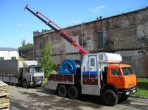 Hydraulic winch / vehicle recovery / rotary drum