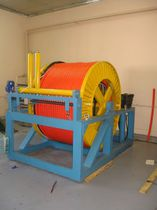 Manual winch / portable / rotary drum