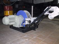 Electric winch / speed control