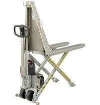 Hand pallet truck / semi-electric / walk-behind / handling