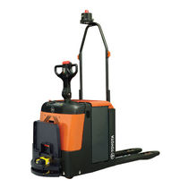 Electric pallet truck / AGV / transport / for industrial applications