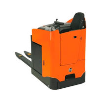 Electric pallet truck / side-facing seated / transport / rugged