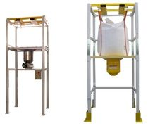 Bag filling hopper