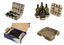 Paper pulp packaging
