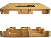 Corrugated cardboard pallet