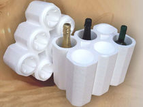 Bottle packaging / polystyrene