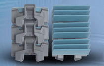 Gripper chain / plastic / conveyor / high-strength