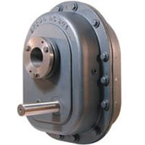 Parallel-shaft gear reducer / shaft-mounted / industrial / for conveyor belts