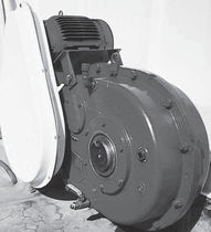 Parallel-shaft gear reducer / shaft-mounted / for conveyor belts