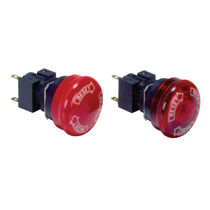 Mushroom push-button switch / single-pole / electromechanical / emergency stop