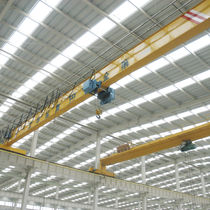 Single-girder overhead traveling crane