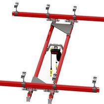 Monorail overhead traveling crane / lightweight / hanging