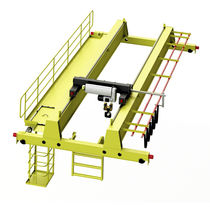 Double-girder overhead crane / low headroom