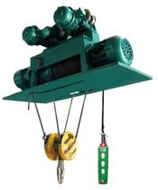 Electric cable hoist / for metallurgical applications