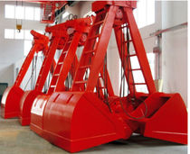 Bunching grab / electro-hydraulic