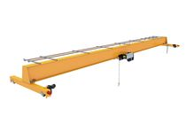 Single-girder overhead crane / with hoist / light-duty