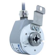 Incremental rotary encoder / optical / hollow-shaft / ultra-rugged